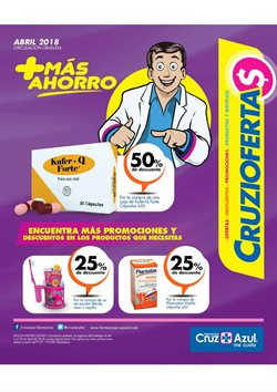 Ofertas de Farmacias Cruz Azul  en el folleto de Quito