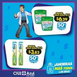 Ofertas de Salud y Farmacias en el catálogo de Farmacias Cruz Azul en Riobamba ( 6 días más )