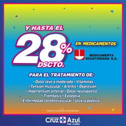 Cupón Farmacias Cruz Azul en Rocafuerte ( Publicado ayer )