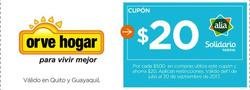Ofertas de Orve Hogar  en el folleto de Quito