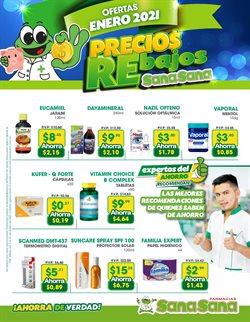 Ofertas de Salud y Farmacias en el catálogo de Farmacias SanaSana en Palenque ( 16 días más )