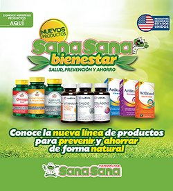 Catálogo Farmacias SanaSana ( Caduca hoy )