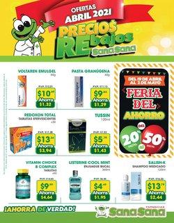 Ofertas de Salud y Farmacias en el catálogo de Farmacias SanaSana en Quito ( 2 días publicado )