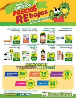 Ofertas de Farmacias SanaSana en el catálogo de Farmacias SanaSana ( 13 días más)