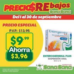 Catálogo Farmacias SanaSana ( 12 días más)