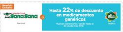 Ofertas de Ópticas y Farmacias  en el folleto de Farmacias SanaSana en Joya de los Sachas