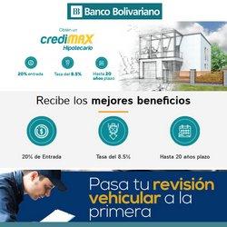 Ofertas de Bancos en el catálogo de Banco Bolivariano ( Más de un mes)