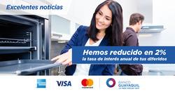 Ofertas de Banco Guayaquil  en el folleto de Quito
