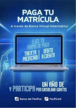 Catálogo Banco del Pacífico en Quito ( Más de un mes )
