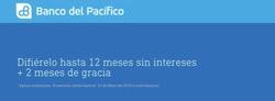 Ofertas de Banco del Pacífico  en el folleto de Guayaquil