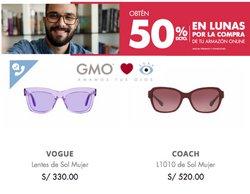 Catálogo Ópticas GMO ( Vence mañana)