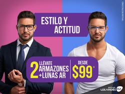 Ofertas de Óptica Los Andes  en el folleto de Quito