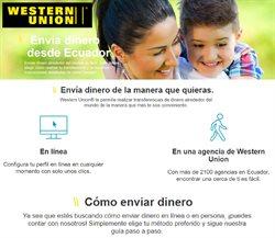 Ofertas de Bancos en el catálogo de Western Union en Zaruma ( 2 días más )