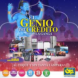 Ofertas de Almacenes La Ganga  en el folleto de Quito
