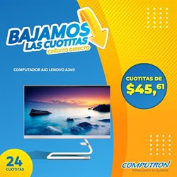 Ofertas de Tecnología y Electrónica en el catálogo de Computron en Babahoyo ( 2 días más )