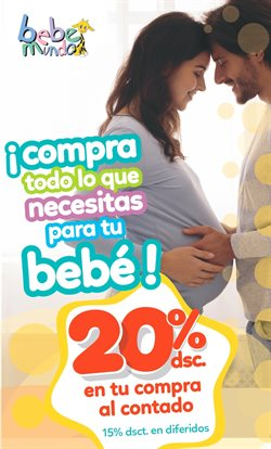 Ofertas de Juguetes, Niños y Bebés en el catálogo de Bebemundo en Salitre Canton ( Más de un mes )
