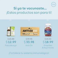 Ofertas de Salud y Farmacias en el catálogo de Natural Vitality ( 4 días más)