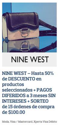 Cupón Nine West ( 3 días publicado )