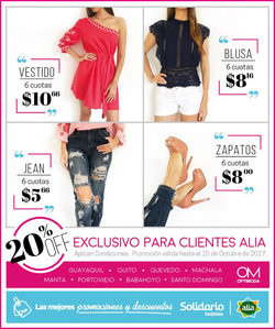Ofertas de Optimoda  en el folleto de Guayaquil