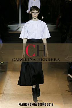 Ofertas de Carolina Herrera  en el folleto de Quito