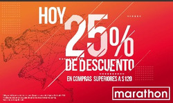 Ofertas de Marathon Sports  en el folleto de Guayaquil