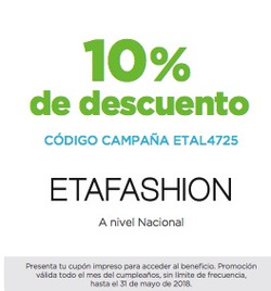 Ofertas de ETAfashion  en el folleto de Quito