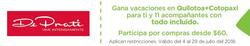 Ofertas de De Prati  en el folleto de Quito