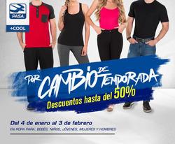 Ofertas de Ropa, zapatos y complementos  en el folleto de Pasa en Riobamba
