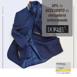 Ofertas de Dormel  en el folleto de Quito