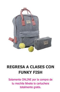 Ofertas de Funky Fish  en el folleto de Guayaquil