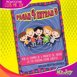 Ofertas de Mr. Joy  en el folleto de Guayaquil