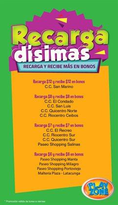 Ofertas de Juguetes, Niños y Bebés en el catálogo de Play Zone en Montecristi ( Caduca hoy )