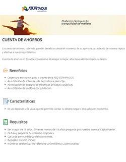 Catálogo Cooperativa Atuntaqui ( 7 días más )