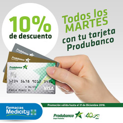 Ofertas de Produbanco  en el folleto de Quito