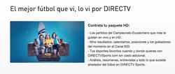 Ofertas de DirecTV  en el folleto de Quito