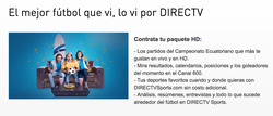 Ofertas de DirecTV  en el folleto de Portoviejo