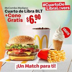 Ofertas de Restaurantes en el catálogo de McDonald's en Montecristi ( 4 días más )