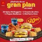 Ofertas de Restaurantes en el catálogo de McDonald's en Guayaquil ( 19 días más )