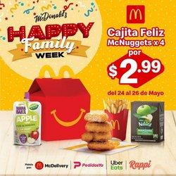 Ofertas de McDonald's en el catálogo de McDonald's ( Vencido)