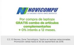 Ofertas de Novicompu  en el folleto de Guayaquil