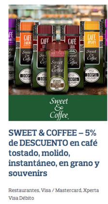 Cupón Sweet & Coffee en Rocafuerte ( 3 días publicado )