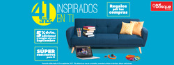 Ofertas de Muebles el Bosque  en el folleto de Guayaquil