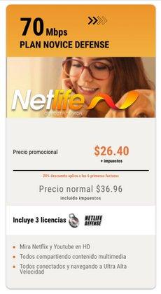 Ofertas de Net Life en el catálogo de Net Life ( 20 días más)