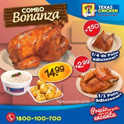 Ofertas de Texas Chicken  en el folleto de Quito