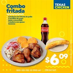 Ofertas de Restaurantes en el catálogo de Texas Chicken en Latacunga ( Caduca hoy )