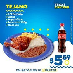 Ofertas de Restaurantes en el catálogo de Texas Chicken en Montecristi ( 4 días más )