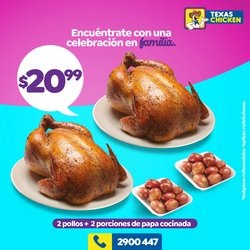 Catálogo Texas Chicken ( 13 días más)