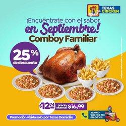 Ofertas de Restaurantes en el catálogo de Texas Chicken ( Vence mañana)