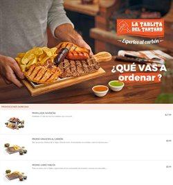 Ofertas de Restaurantes en el catálogo de La tablita del tártaro en Manta ( 15 días más )