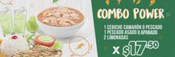 Cupón Los cebiches de Rumiñahui en Rocafuerte ( 14 días más )